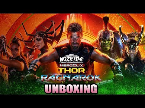 UNBOXING - Heroclix - Thor: Ragnarok (Movie) Gravity Feed