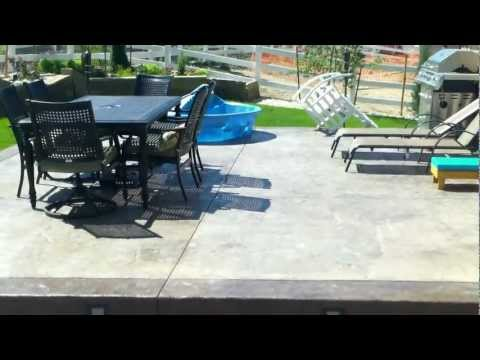 Stamped Concrete Patio By Westminster Colorado Concrete Contractor