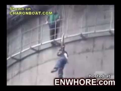 moscow tv tower jump accident-Moscú Torre de tv,accidente  en salto..wmv