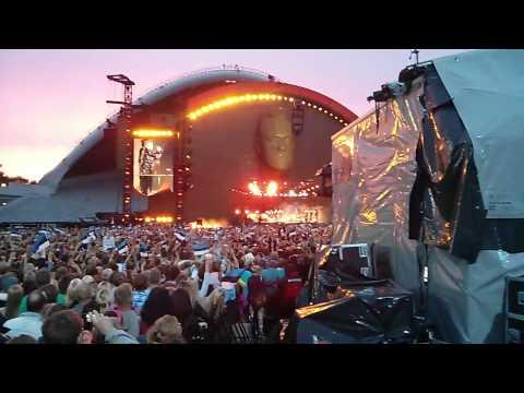 Robbie Williams Tallinn Live