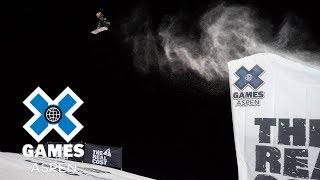 Yuki Kadono wins Men's Snowboard Big Air bronze | X Games Aspen 2018