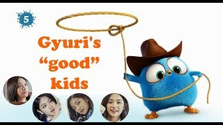 Fromis 9 as angry birds #5 _ Gyuri's good kids