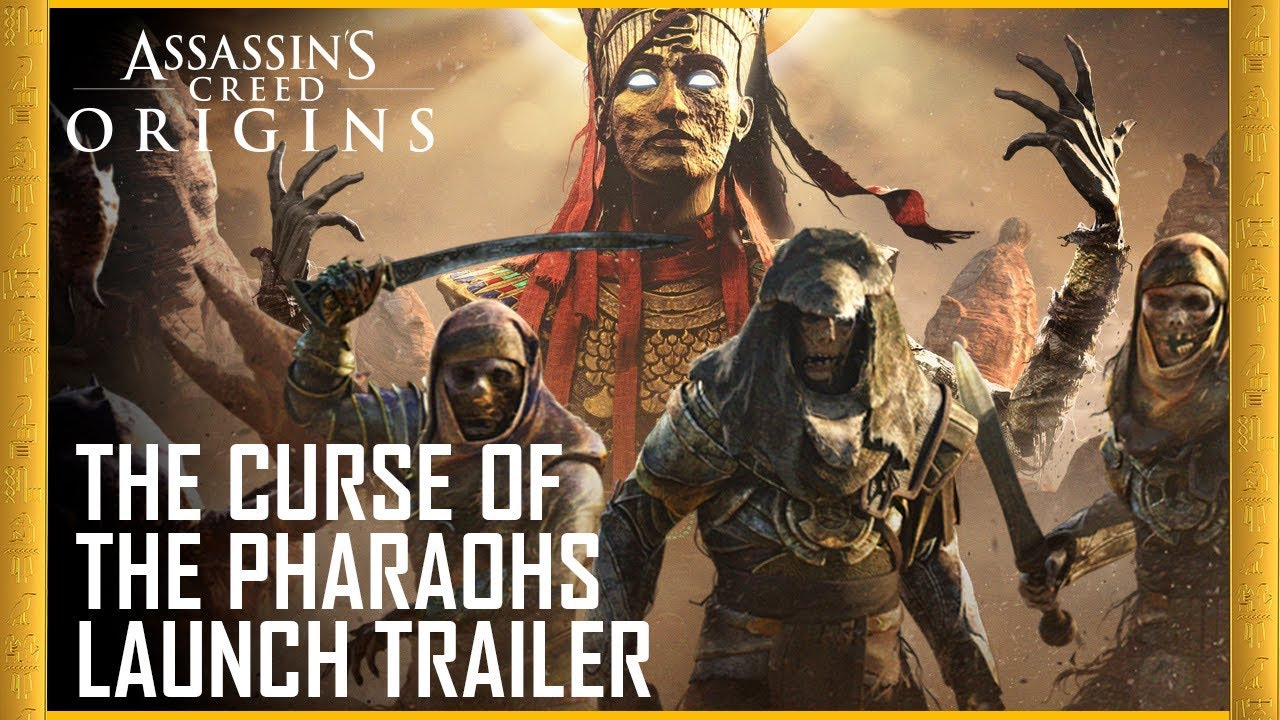 Assassin S Creed Origins The Curse Of The Pharaohs Dlc Launch