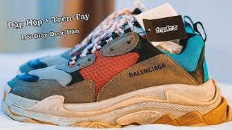 Review đôi giày quốc dân   Balenciaga Triple S