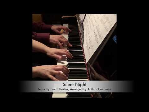 Silent Night - Piano, 4 Hands