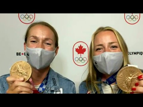 Rowers Caileigh Filmer and Hillary Janssens 'enjoying every minute' of Bronze win