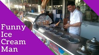 Funny Ice Cream Seller Playing Games With Kids | Turkey