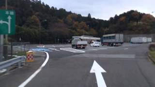 名神高速本線から湖東三山スマートインターチェンジ
