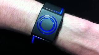 Kisai Seven LED Watch With Three Animations From Tokyoflash Japan
