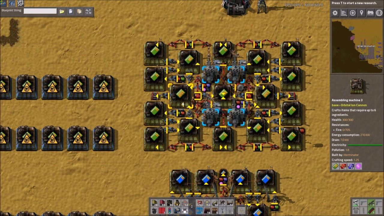 Factorio Electric Furnace Blueprint
