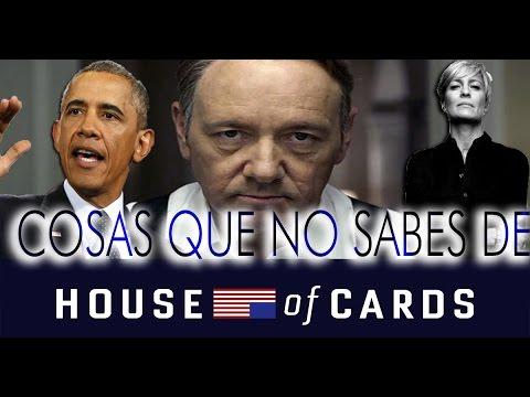 Cosas que No Sabías de 'House of Cards'