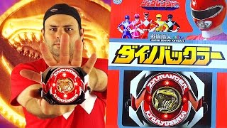 legacy zyuranger dino buckler guardian beast medal set review mighty morphin power rangers
