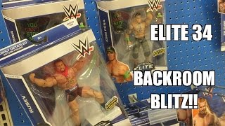 WWE ACTION INSIDER: Elite 34 Mattel Wrestling Figures BACKROOM