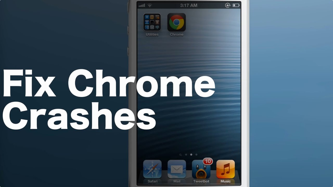 How To Stop Google Chrome From Crashing On Your Jailbroken iPhone
