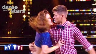 DALS S05 - Un jive avec Rayane Bensetti et Denitsa Ikonomova sur ''Happy'' (Pharrell Williams)