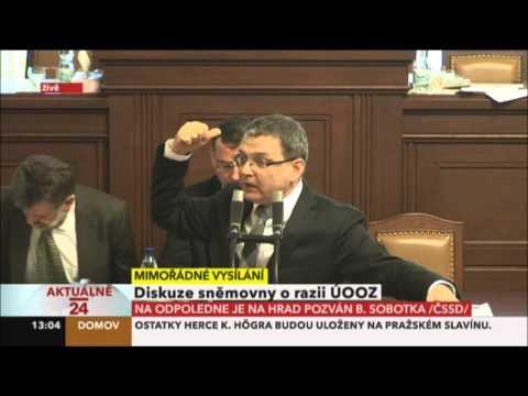 L.Zaorálek: Pane premiére, zeptejte se občanů na ulici, jak vnímají vaši obhajobu - 14.6.2013