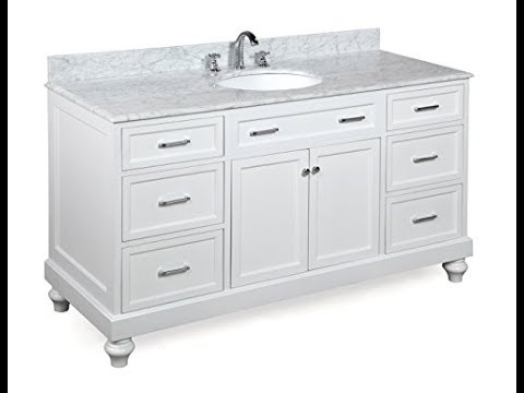 60 Inch Bathroom Vanity Single Sink Youtube