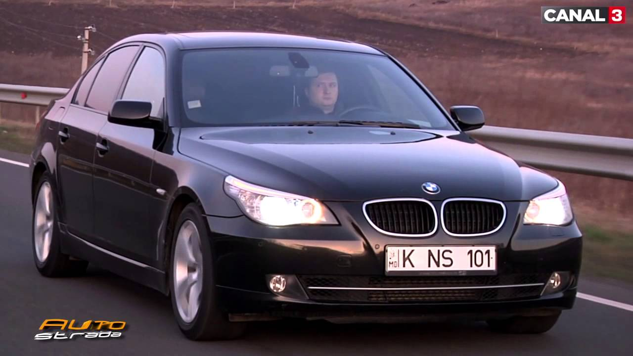 bmw 520d e60 second hand test autostrada md youtube