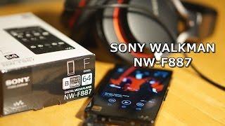 sony walkman nw f887 64gb ウォークマン nw f887を簡単にレビュー