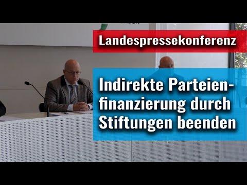 Verfassungsklage gegen die in Sachsen praktizierte Finanzierung politischer Vereine und Stiftungen