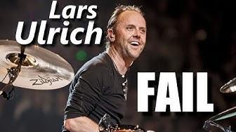 Lars Ulrich FAIL┃RockStar FAIL