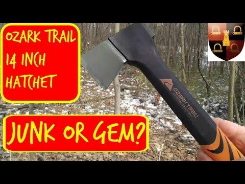 Ozark Trail 14 inch Hatchet Review