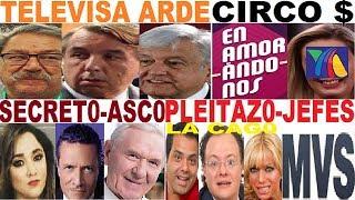 AMLO TELEVISA PACO ZEA ENAMORÁNDONOS DISPARA MARGOT DISPARA TV AZTECA  SHERLYN PACO IGNACIO DE TAIBO