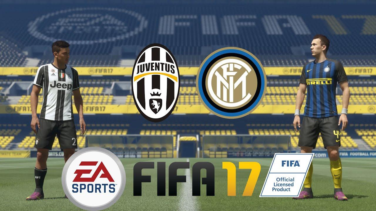 Fifa 17 demo 4k 60fps juventus vs inter milan ps4 for Fifa 17 milan