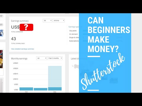 Making Money on Shutterstock | As a Beginner Photographer |