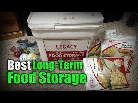 Best Long-Term Emergency Survival Food / Legacy Food Storage