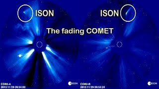 The fading Comet C/2012 S1 (ISON)