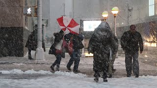 First Real Snow of Winter Headed for NYC? | News 4 Now