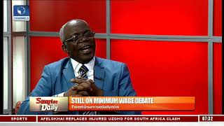 Minimum Wage Debate: We Are Not Running A Cost-effective Government - Falana Pt.1 |Sunrise Daily|