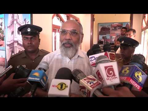 Jeffrey Feltman meets C.V. Wigneswaran in Jaffna