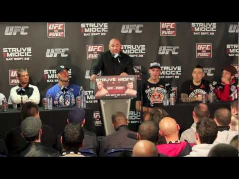 UFC on FUEL TV 5 Post Fight Press Conference