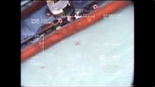 Rescue Operation of Turkish Coast Guard Helicopter