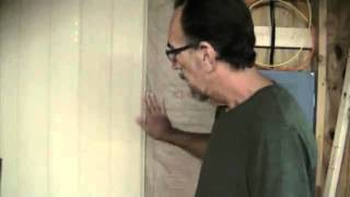The Down To Earth Woodworker: Garage Shop Conversion, Part 3 -- Covering The Walls