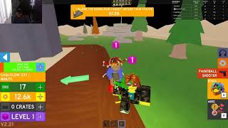 playing different games on roblox come join