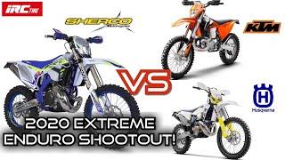 2020 Sherco 300 Vs KTM/Husqvarna Extreme Enduro Shootout.