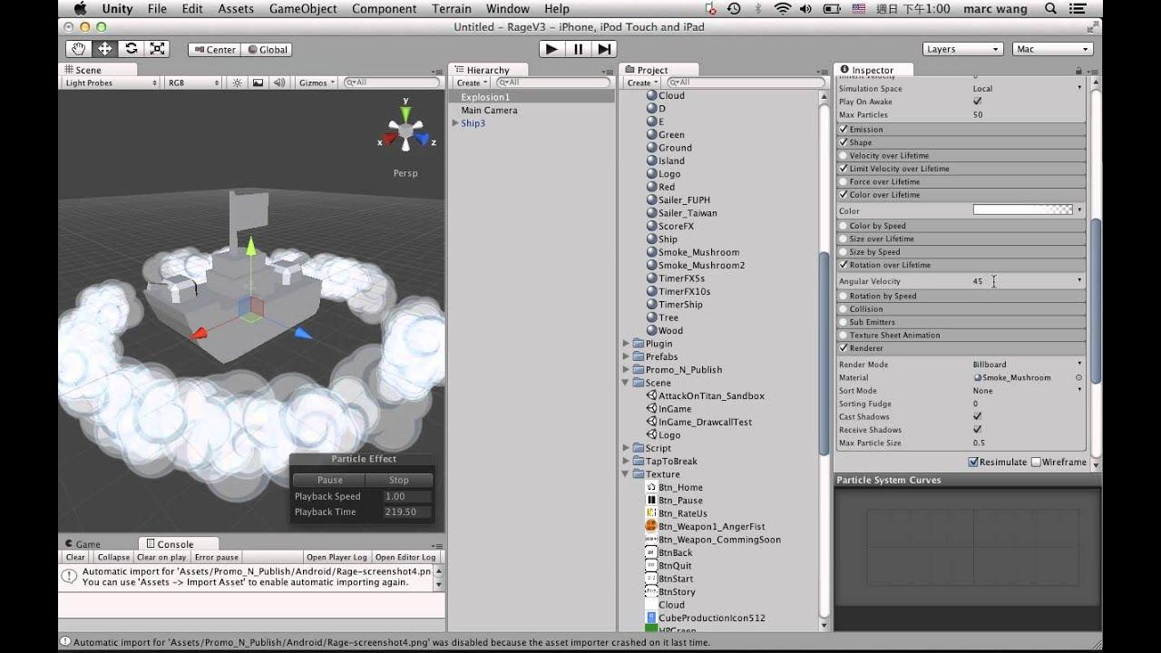 Unity Shuriken Toon Explosion FX Tutorial 1/3