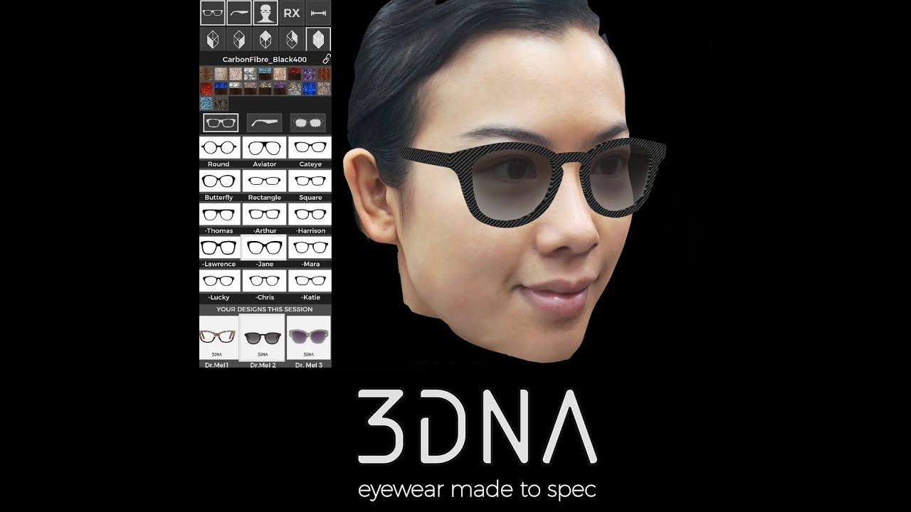 3DNA 60 second style session with Dr. Mel @ Hong Kong