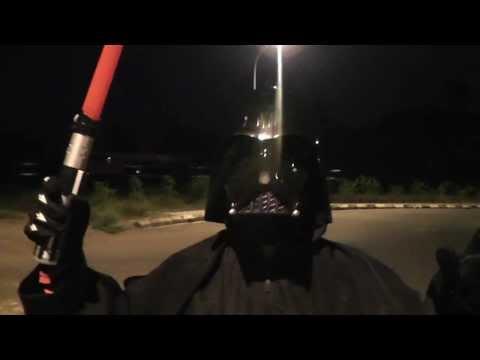 Dark Vader 'star wars' tunjuk belang agaknya