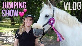 Show Vlog | Felbridge Showjumping | This Esme