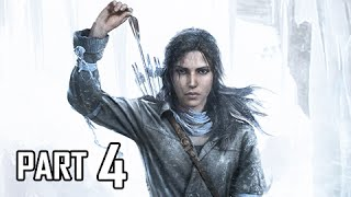 Rise of the Tomb Raider Walkthrough Part 4 - Soviet Installation (Let