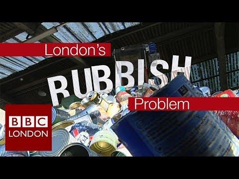 London's Rubbish Problem: Recycling – BBC London News