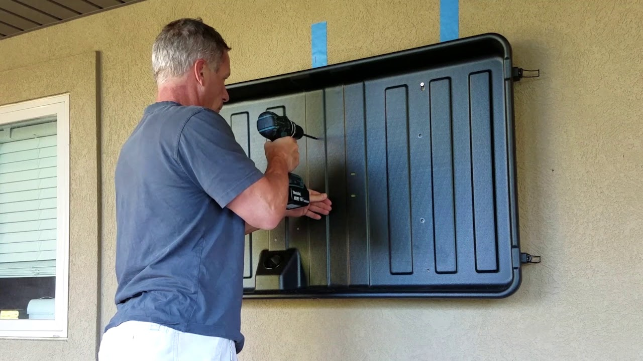 Storm Shell Tv Enclosure Install Overview Youtube