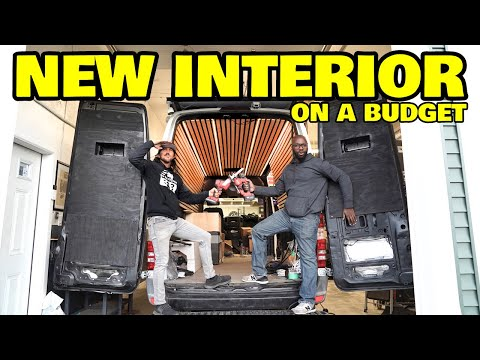 Designing A Simple High End Interior On Our Budget Off Grid Van