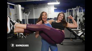 Celebrating Strong Women | Leg Day | HiiT Workout | International Women's Day | SixPackAbs