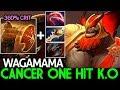 Download Wagamama [Mars] New Cancer One Hit K.O Rapier Build 7.21 Dota 2