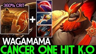 Wagamama [Mars] New Cancer One Hit K.O Rapier Build 7.21 Dota 2